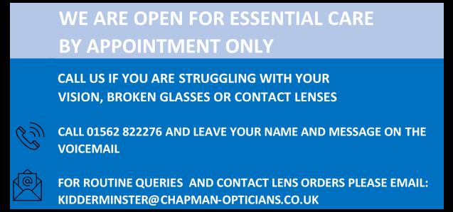 Opticians kidderminster eyetest