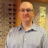 David Green, manager at Chapman Opticians, Bromsgrove