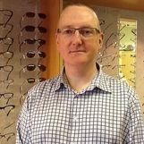 David Green, manager at Chapman Opticians, Bromsgrove