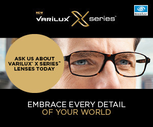varilux X is now available at Chapman and Myers opticians